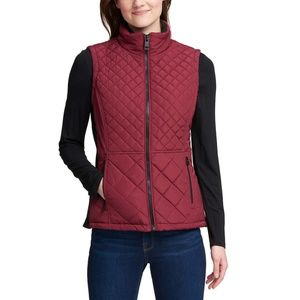 NWT!!! Andrew Marc W's Quilted Insulated Vest